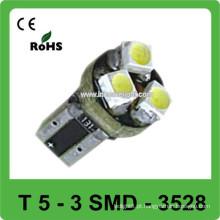 12V 3528 T5 luzes do painel de controle do carro