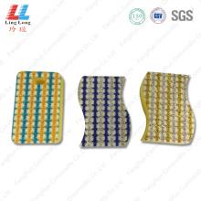 Raya limpieza de esponja de varias formas