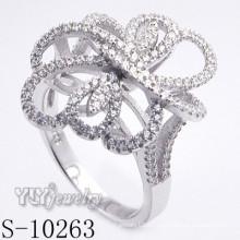 925 joyería de plata con zirconia cúbico para las mujeres (S-10263)