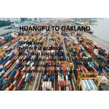 Guangzhou Huangpu Sea Freight to United States Oakland