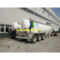 19000L 98% Sulfuric Acid Transport Semi-Trailers