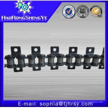 Cadena de rodillos de paso corto con accesorio K1