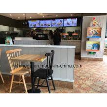 В KFC подгонять ресторан обеденный стол и Стулы (foh-пульта-BCA81-1)