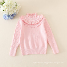 suéter caliente del bebé de las muchachas de la venta / suéter lindo del bebé del niño por 1-4 años niñas 5 colores