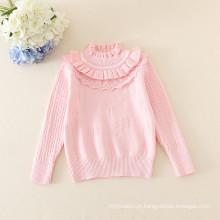 camisola quente dos bebés da venda / camisola bonito infantil do bebê por 1-4 anos meninas 5 cores