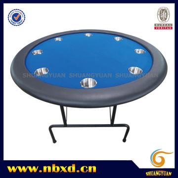 Mesa redonda del póker con la pierna del hierro (SY-T01)