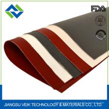 résistance à la chaleur antistatique 0.15mm - tissu de fibre de verre enduit de silicone d'épaisseur de 2.00mm