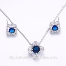 wholesale jewelry manufacturer fancy design pendant earring fashion jewelry set