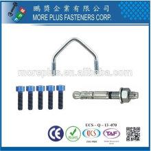 Taiwan Edelstahl 18-8 verchromter Stahl vernickelter Stahl Kupfer Messing Holz Ankerbolzen V Standard Bolt Titanium Bolt