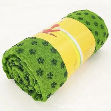 JW hot microfiber eco friendly anti slip wholesale towel Yoga mat Gym Sport Towel custom design absorbent yoga towel