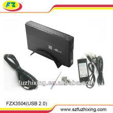 USB2.0 a 3.5 SATA IDE Combo Caja de caja de caja de disco duro Caddy