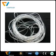 tuyauterie réfléchissante en plastique de PVC de haute fréquence de lumière avec la corde réfléchissante