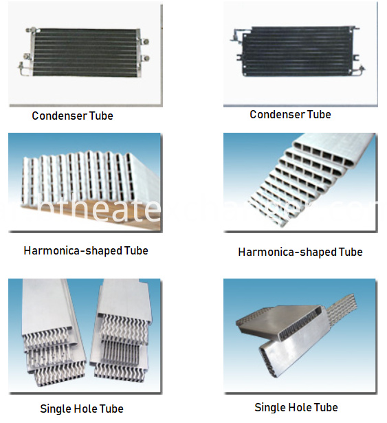 Extruded Aluminum Tubes