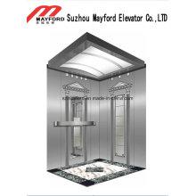 Elevador de pasajeros de alta calidad 800kg para la construcción de negocios