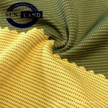 carbone polyester de bambou avec interlock de polyester coolmax