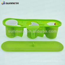 Nueva abrazadera de la botella del deporte de la abrazadera de la taza de la sublimación del silicio 11oz