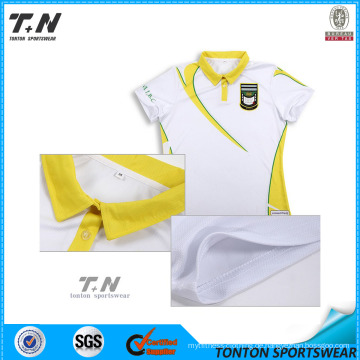 2016 Großhandelsart und weise Sublimation Polo Shirts