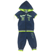 Fashion Summer Boy Kids Sport Suit Wear in Children ′s Clothes for Apparel Ssb-104