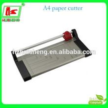Máquina de corte de papel de tamanho A4 guilhotina rotativa de papel rotativo HS909