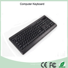 Элегантный дизайн нормальный Размер Клавиатура для компьютера (КБ-1802)