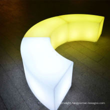 club led furniture /snake shape/ stool/with remote controller