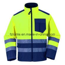 Revestimento de segurança 2016 reflexivo Workwear de alta visibilidade