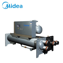 Midea low temperature industrial air cooling cooled screw type ac water chiller