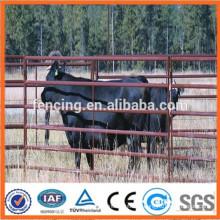 Clôture de ferme d'élevage en métal métallique utilisée