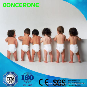 Disposable Breathable Baby Diaper with High Absorption