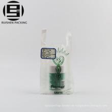 Fabrikpreis billige kleine T-Shirt Plastiktasche