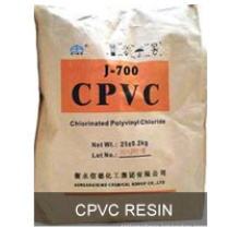 CPVC resin with white powder
