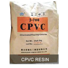 CPVC resin with white powder