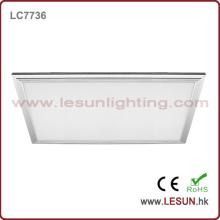 Luzes de painel do diodo emissor de luz de 600 * 300mm 30W / lâmpada do teto para o centro comercial LC7736A
