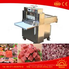 Cortadora del cubo de la carne máquina cortadora de la carne de la cabra