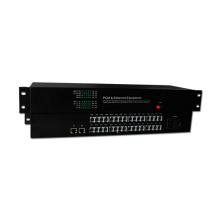 HongRui usine prix téléphone fibre optique convertisseur pcm 30 canal multiplexeur