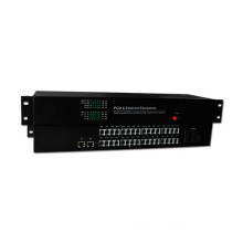 HongRui factory price telephone optical fiber converter pcm 30 channel multiplexer