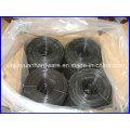 Fil de petite bobine / Fil noir en acier recourbé / Fil de bobine carrée