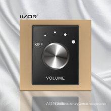 Volume Control Switch in Acrylic Outline Frame (SK-AP100VH; SK-AP100VL)