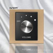 Interruptor de controle de volume no quadro de estrutura acrílica (SK-AP100VH; SK-AP100VL)