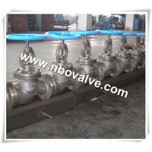 "Válvula de globo de flange de níquel 200/201 de 300 lb (2 ""e 3"")"
