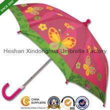 "19"" Qualität Fiberglas gerade Kid Regenschirme für Kinder (KID-0019ZF)"