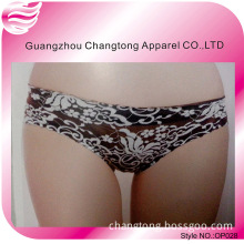 One Piece Panties with Beautiful Printing Flower Lace (OP028)