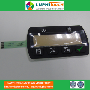 Automobile Application Rubber Keypad Membrane Switch