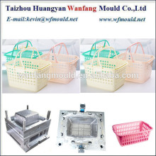 new design of plastic picnic basket injection mold/plastic picnic basket with handle mold manufacturing