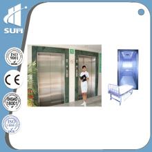 Vitesse 1.0m / S Portée d'ouverture latérale Ascenseur de l'hôpital