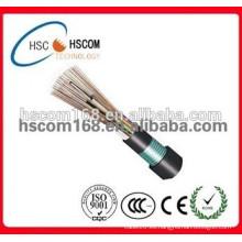 Fibra óptica GYTS cable subterráneo único cable de comunicación multimodo de fibra óptica