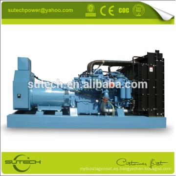 Generador diesel 650Kva ~ 3000Kva MTU, abierto / silencioso / contenedor