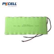 Batería recargable de Ni-mh Aaa 12V 600mah