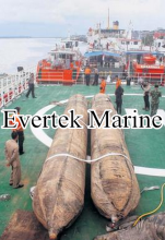 marine boat hauling out rubber airbags