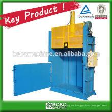 empacadora vertical hidráulica para materiales sueltos